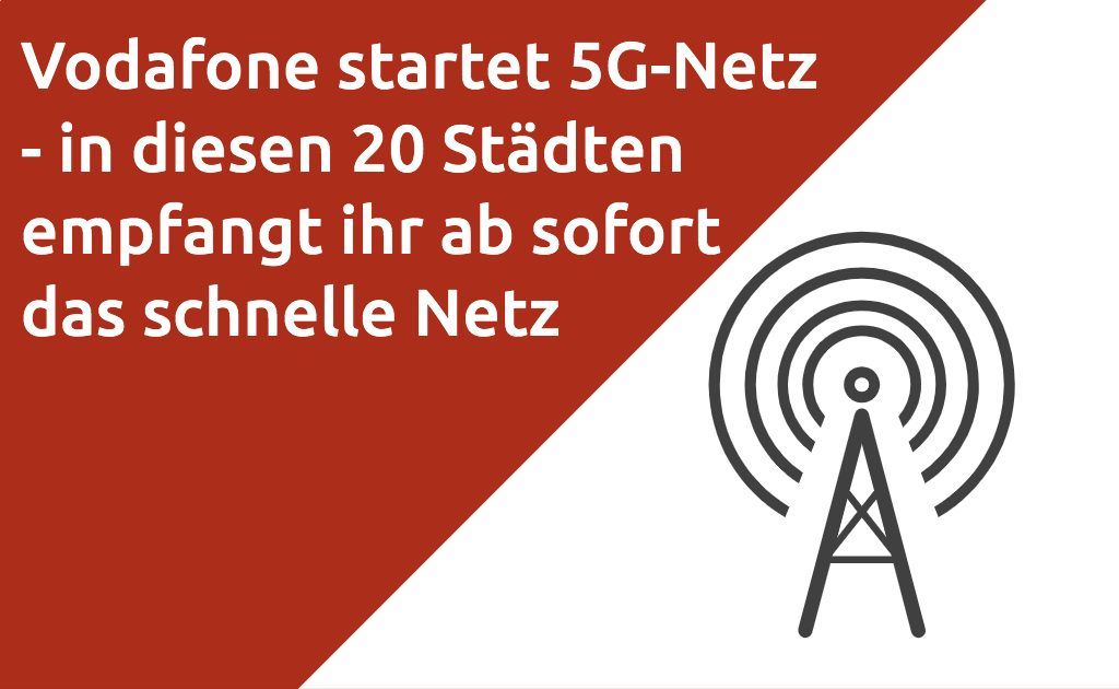 Vodafone 5G Netz