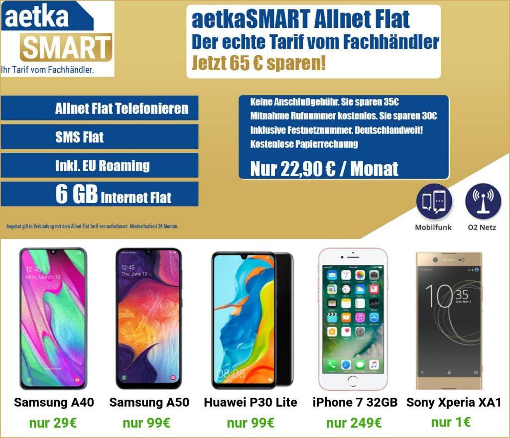aetkaSmart mit Smartphone