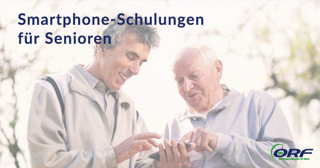 Smartphone Schulung Senioren