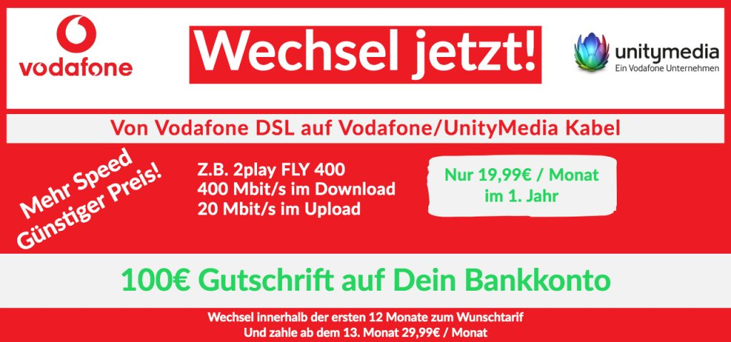 Vodafone unity media