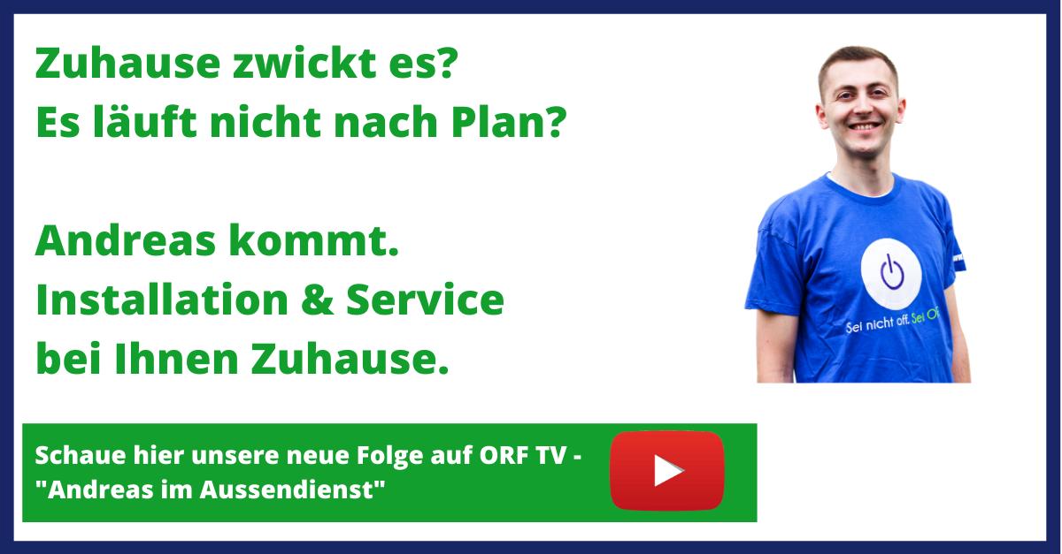 """""""Andreas im Aussendienst"""""""