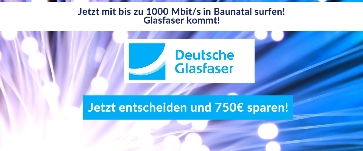 glasfaser slider