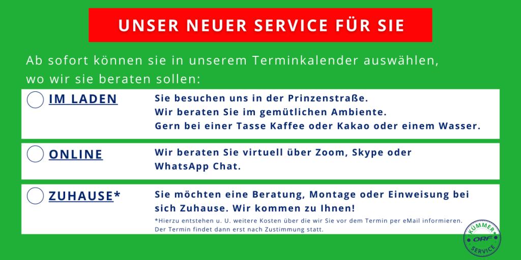 termin service